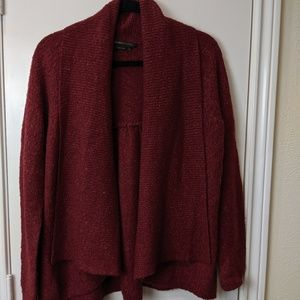 BCBG Cranberry Open Sweater / Sz XS
